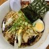 風風ラーメン - 料理写真:ばり黒豚骨(辛ネギトッピング)