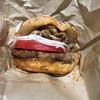 ニコとトレホの燻製ハンバーガー - 料理写真:プルドポークバーガー