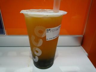 CoCo都可 ピアザ神戸店 - タピオカパッションフルーツ緑茶(M) 475円