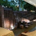 Rico - テラス前の噴水