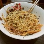 東京麺珍亭本舗 - 混ぜた後