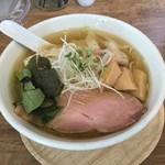 らーめんシゲトミ - ワンタン麺塩1100円