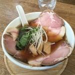 らーめんシゲトミ - チャーシュー麺醤油1200円