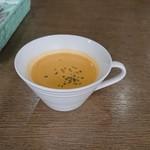 キッチン 新葉 - 最初にスープ
