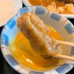 ぱる亭 - 【2019年04月】ゴールデンカツ定食、カツ煮をさらに溶き卵をくぐらせて頂きます(笑)。