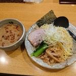 麺処 田ぶし - 2019年4月 東京醤油とんこつつけ麺 800円