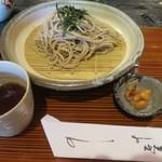 梅窓庵 - 料理写真:ざる蕎麦