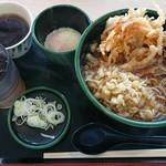 ゆで太郎 - 料理写真:朝そば(玉子)¥330-
