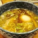 渋谷大勝軒1961 - 特製もりそば(スープ)