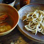 蕎麦十九 夢玄 - 鴨汁(+600円) 棚田 太目の皮付き玄そば