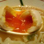 麺屋社中 - 味玉黄身が