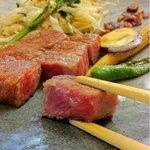 ステーキ フォルテ - サーロイン 鉄板焼き