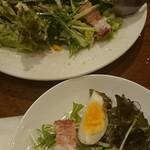 生パスタ&イタリア大衆酒場 小麦屋 - 料理写真:シーザーサラダ。