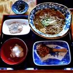 そばきり 吾妻路 - 料理写真:おろし味噌かけそば