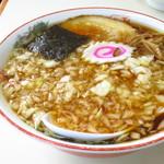 味幸 - 薬味ラーメン700円
