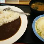 松屋 - 料理写真:カレーセットの大盛り