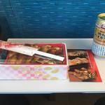 柊 - 料理写真:穴子めし、いつものように缶チューハイと