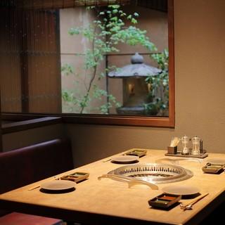 京町家をリノベーションした【和モダンな焼肉屋】