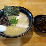 玄武門 - 料理写真:久留米ラーメン