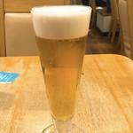ひろしま鉄ちゃん - ランチビール
