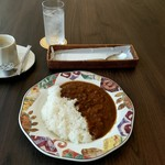 ホテルハーヴェスト 南紀田辺 - カレーライス 756円+ドリンクセット(ホットコーヒー)216円