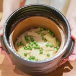 二条城ふる田 - 筍と薄い豆の炊き込みご飯
