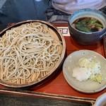 夢打庵 - 料理写真:鴨ざるそば