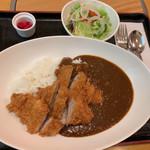 あかずきん - カツカレー ヒレ…980円