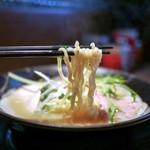 ダイナsoul - ■地鶏中濃らーめん 790円