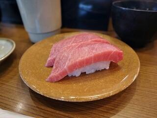 亀正くるくる寿司 - 380円中トロ