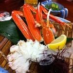 かに通 - ずわい蟹酢♪ 1370円