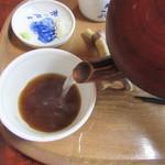 ソバイスバ いさと - 蕎麦湯は自然体