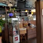 CARI cafe - 店内に入ったところ