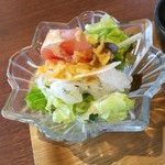 CARI cafe - ランチのサラダ