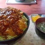 まるてん食堂 - ソースカツ丼