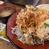 馬鹿貝 - 料理写真:桜えびとしらすのかき揚げ丼1,150円