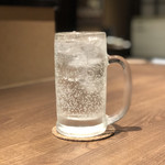 牛タン 肉居酒屋 金べこ - 絆笑(ソーダ割り)