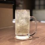 牛タン 肉居酒屋 金べこ - 和梨酎ハイ