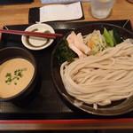 笑乃讃 - 料理写真:濃厚胡麻つけ汁うどん(大)