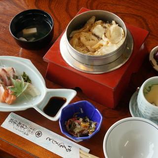 伊豫水軍 - 料理写真:昼定食 鯛めし