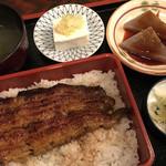 107065450 - 鰻重定食(1,870円)