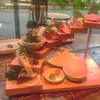 博多炉端 魚男 - 料理写真:お刺身階段盛り合わせ    トロも鰆も胡麻鯖も美味しい❣️