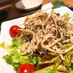 博多もつ鍋おおやま - ゴボウ明太マヨサラダ