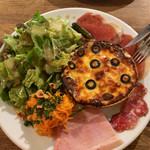 107077951 - 超ブラッスリー惣菜プレート