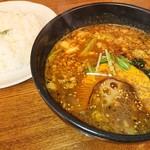 107079028 - ひき肉納豆・オリジナルスープ