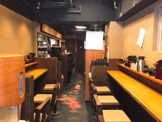蕎麦 冷麦 嵯峨谷 渋谷店 - 店内