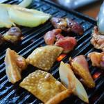 鶏料理専門店 みやま本舗 - 鉄板焼きです
