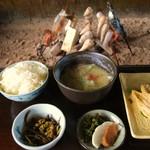 田楽 奥阿蘇 - 田楽定食の全体写真