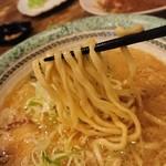 echigoya - 1902_echigoya-越後屋-_Jakarta Pork Ramen@88,000Rp(ジャカルタポークラーメン)家系ラーメンです!麺リフト!平打ち麺がまた美味しい!