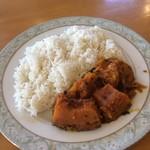 インディアン・レストラン ロタ - カボチャのカレー